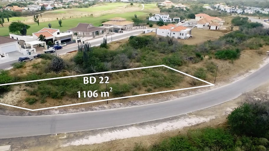 RE/MAX real estate, Curacao, Blue Bay, Blue Bay - Spacious lot for sale on beautiful resort