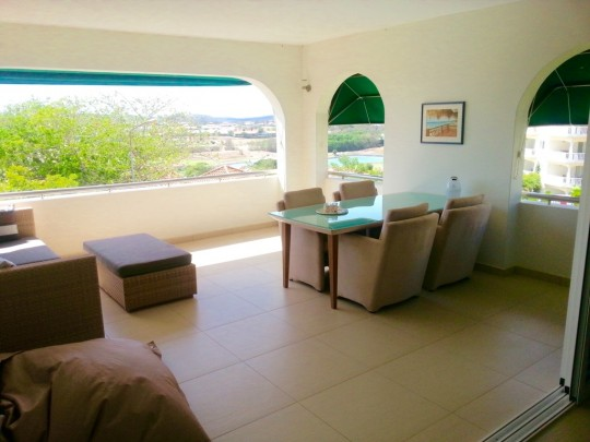Furnished renovated apartment for rent in Blue Bay Resort, Curacao