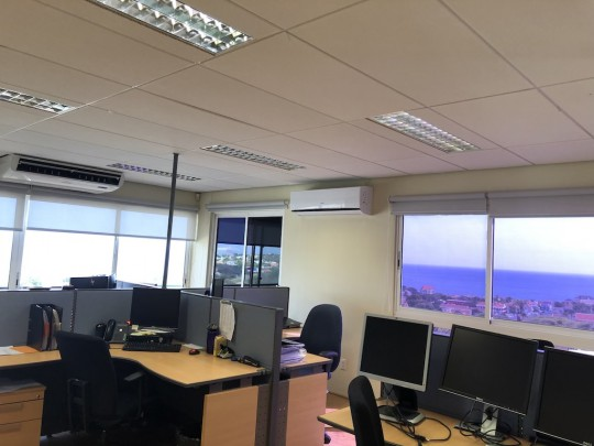 Ara Hill Top Building - Office spaces for rent with spectacular views