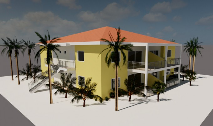 Blije Rust II - Apartments w. pool -  close to beach & airport