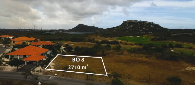 RE/MAX real estate, Curacao, Blue Bay, BB BO-8 - large lot on main road with back yard adjacent golf course
