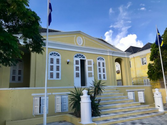 Punda - Charmant appartement te huur in Curaçao in monument