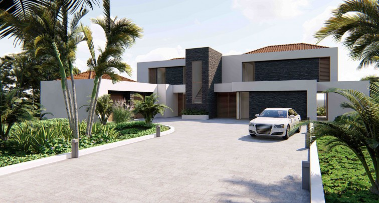 Ocean Drive 3 - Buy lot with 40 meter of coast line in Caribbean now!