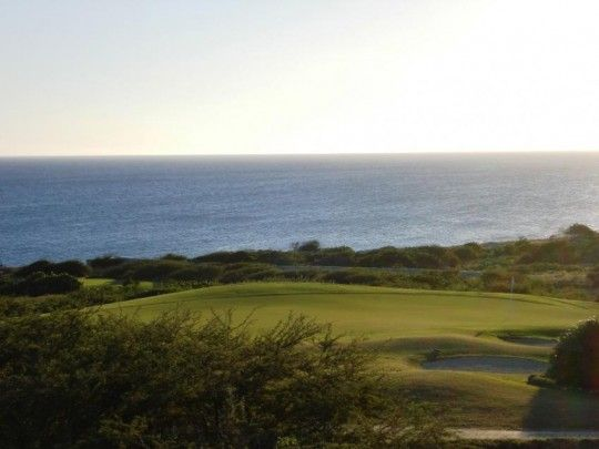 OPPORTUNITY- last lot for sale on golf course with sea view in BlueBay