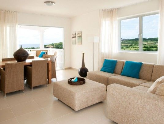 Blue Bay:furnished 2 bedroom apartment - close to beach, diving & golf