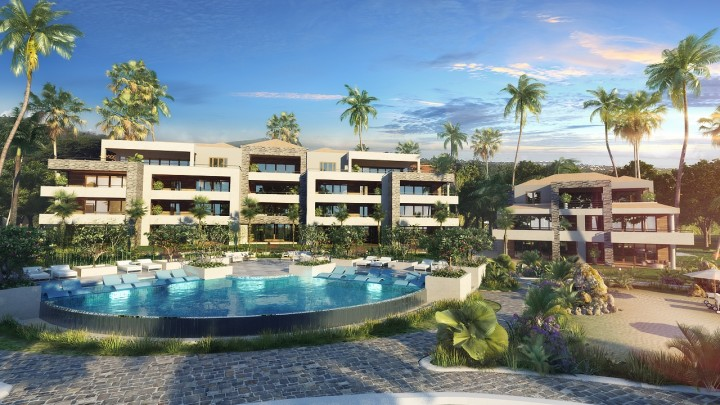 Beach condos for sale in Caribbean -The Shore Curacao - waterfront!